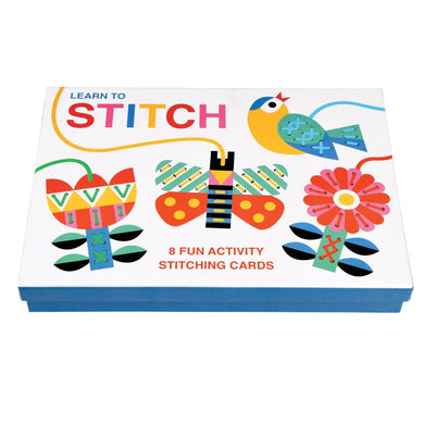 Learn to stitch cardboard activity