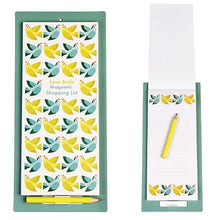 Load image into Gallery viewer, Love Birds Magnetic Shopping List