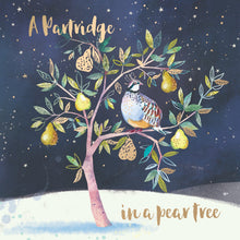 Load image into Gallery viewer, A partridge in a pear tree Christmas cards, Pack of 10