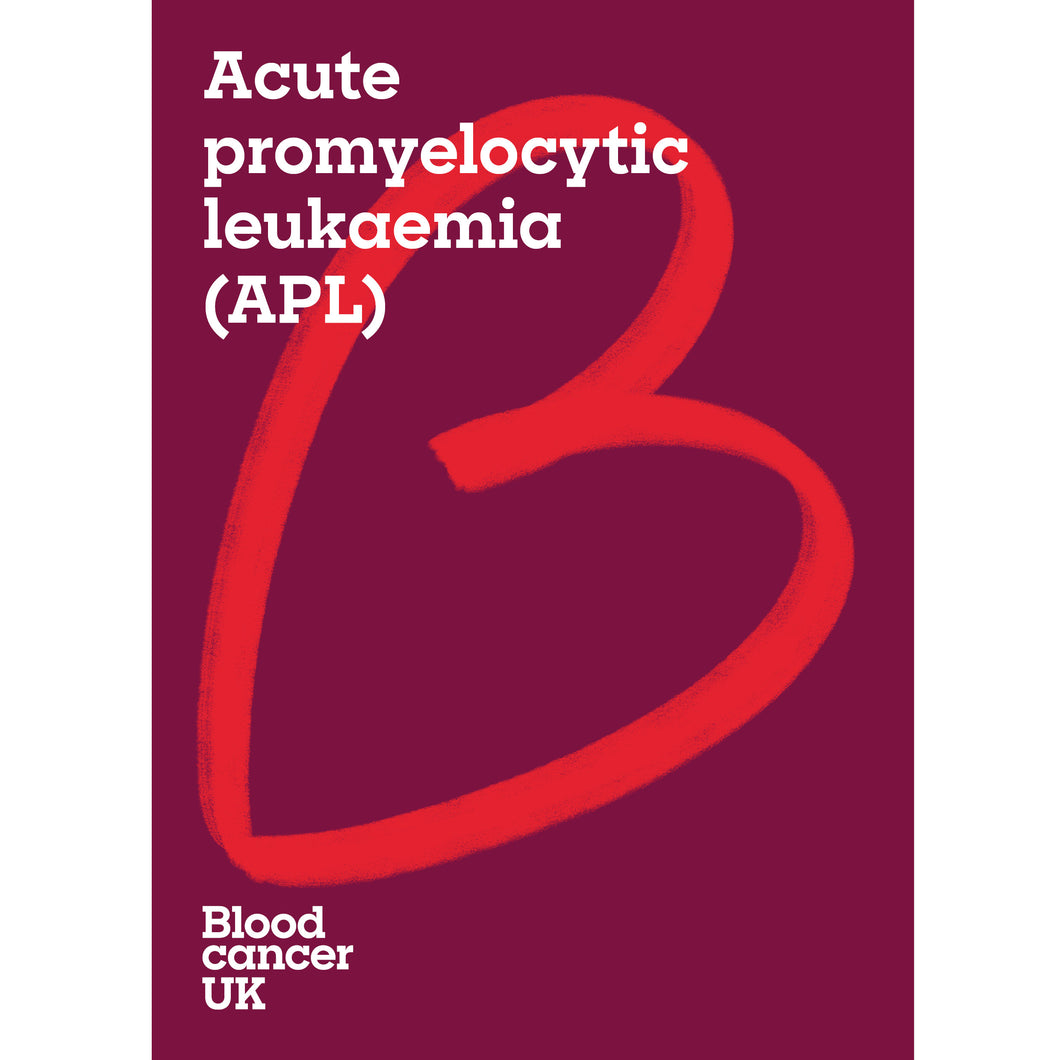 Acute promyelocytic leukaemia (APL) booklet from Blood Cancer UK
