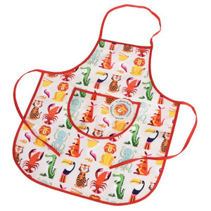 Children's Colourful Creatures Apron