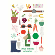 Load image into Gallery viewer, Family Calendar 2021 All Around the table Caroline Gardner