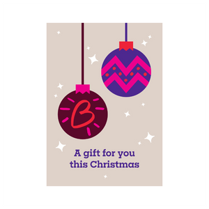 Christmas Bauble | Gifts that beat blood cancer