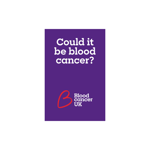 Blood cancer symptoms guide from Blood Cancer UK