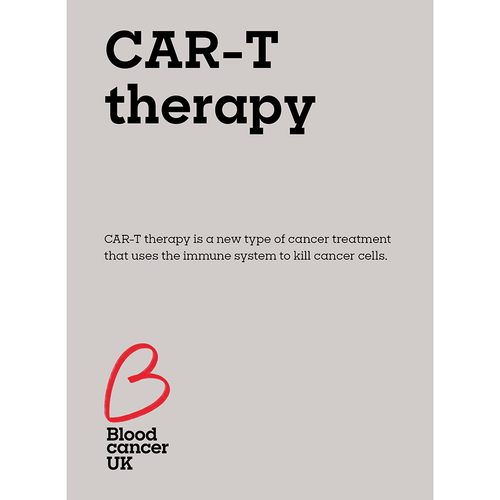 CAR-T therapy fact sheet from Blood Cancer UK