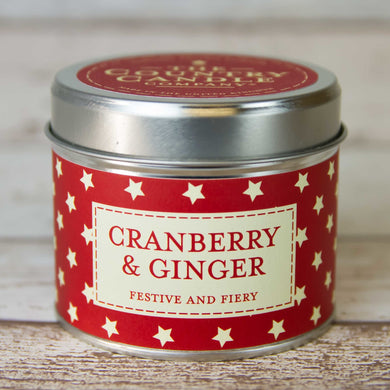 Cranberry and Ginger Candle