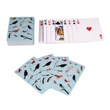 Load image into Gallery viewer, Garden birds playing cards