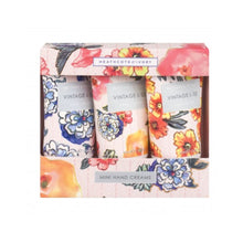 Load image into Gallery viewer, Patterns & Petals Triple Hand Cream Set