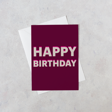 Load image into Gallery viewer, Personalised Happy Birthday Card