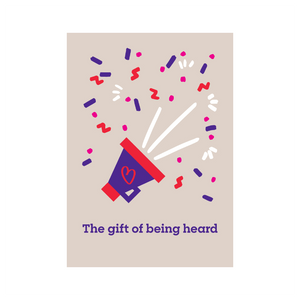 Gift of Being Heard | Gifts that beat blood cancer