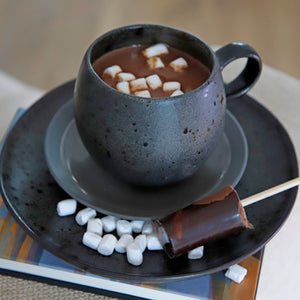 Boozy infused Hot Chocolate Shots