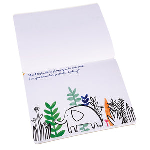 Jungle Colouring and activity kit