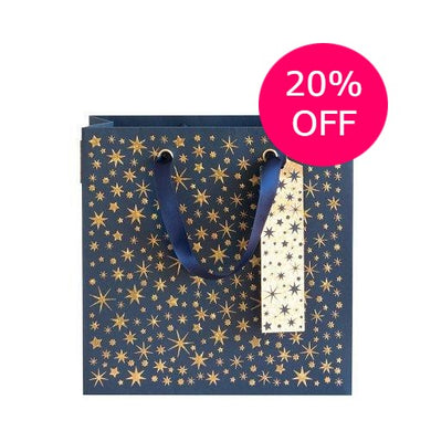 Star gift bag medium