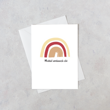 Load image into Gallery viewer, Meddwl Amdanoch Chi | Welsh Personalised Thinking of You Card