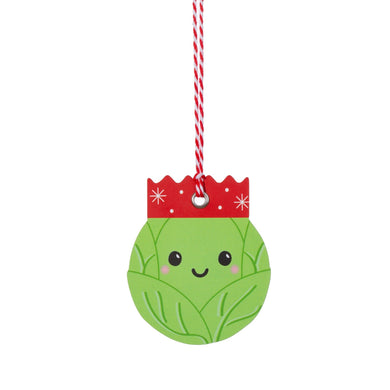 Sprout Christmas gift tag set