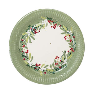 Holly plate
