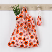 Load image into Gallery viewer, Poppy Folding shopping bag