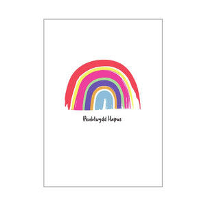 Penblwydd hapus | Welsh Personalised Happy Birthday Card