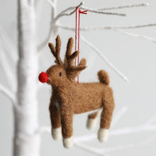 Load image into Gallery viewer, Reindeer Christmas decoration