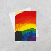 Load image into Gallery viewer, Rainbow Card by competition winner Amy-Lee, 13