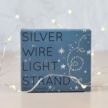 Load image into Gallery viewer, Silver wire string lights