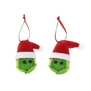 Sprouts Christmas decoration set
