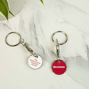 Bloodwise Trolley Keyring