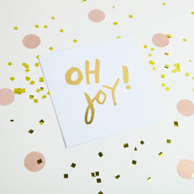 Load image into Gallery viewer, Oh Joy Gold foiled Greetings Cards (10)