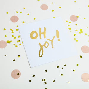 Oh Joy Gold foiled Greetings Cards (10)