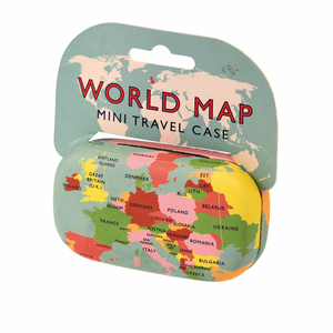 World Map Travel case