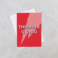 Load image into Gallery viewer, Personalised Thinking of You Card