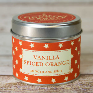 Vanilla and Spiced Orange Candle