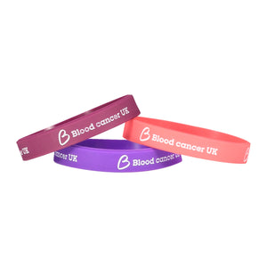 Blood Cancer UK Wristband