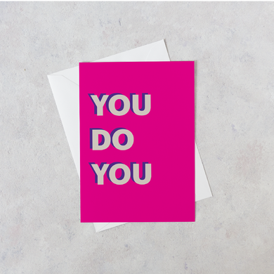 Personalised You Do You Card