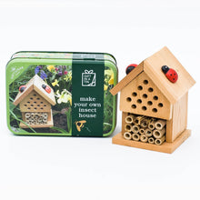 Load image into Gallery viewer, Make Your Own Insect House Gift In a Tin