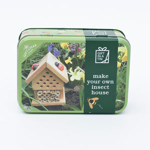 Make Your Own Insect House Gift In a Tin