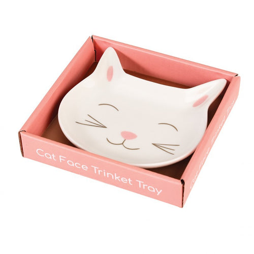 Cat trinket tray