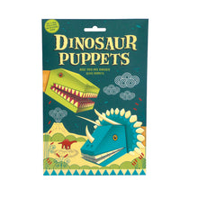 Load image into Gallery viewer, Create Your Own Dinosaur Puppets Kit