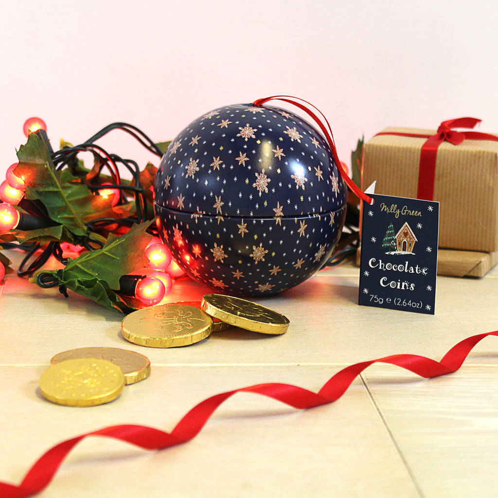 Chocolate Coin bauble