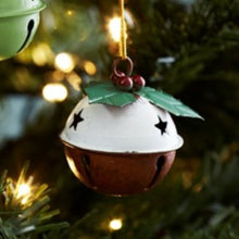 Load image into Gallery viewer, Pudding bell Christmas decoration