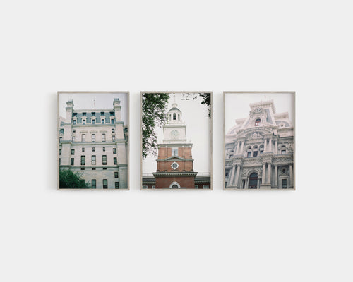 Philadelphia - Set of 3