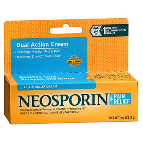 Neosporin + Pain Relief Cream 1 oz by Neosporin