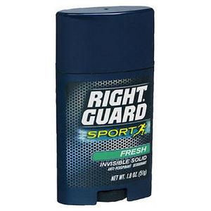 Right Guard Anti-Perspirant Sports Deodorant Invisible Solid Fresh 1.8 oz by Right Guard