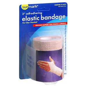 Sunmark Self-Adhering Elastic Bandage 3'' 1 each