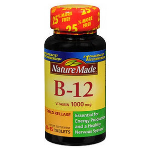 Nature Made Vitamin B-12 - 75 tabs