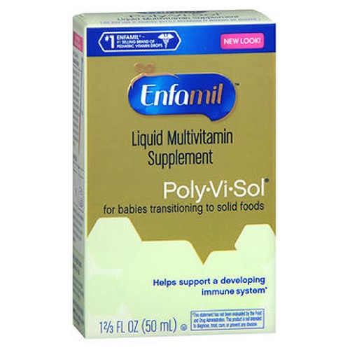 Enfamil Poly-Vi-Sol Multivitamin Supplement Drops 50 ml by Enfamil Essential Iron For Infants and ToddlersWith IronBrand Recommended by Pediatrician
