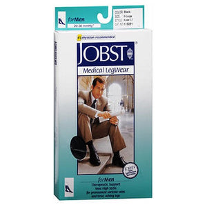 Jobst Firm Support Over-The-Calf Dress Socks Black Extra Large each