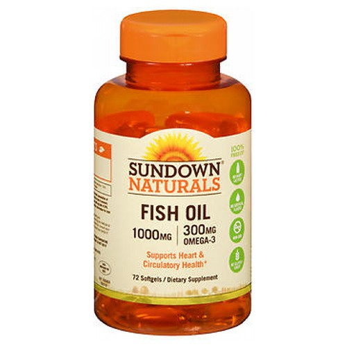Sundown Naturals Fish Oil 60 caps