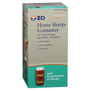 BD Home Sharps Container - 1 each
