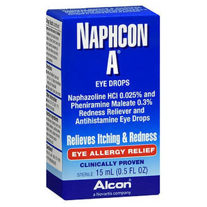 Naphcon A Eye Allergy Relief Drops 15 ml